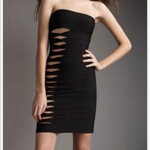 Bcbg strapless dress size 6